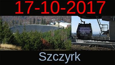 Szczyrk 17-10-2017 Kolejki Widoki Trasy Inwestycje
