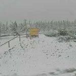 Na Skrzycznem Śnieg
